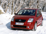 Photos of Citroën C2 VTR 2003–08