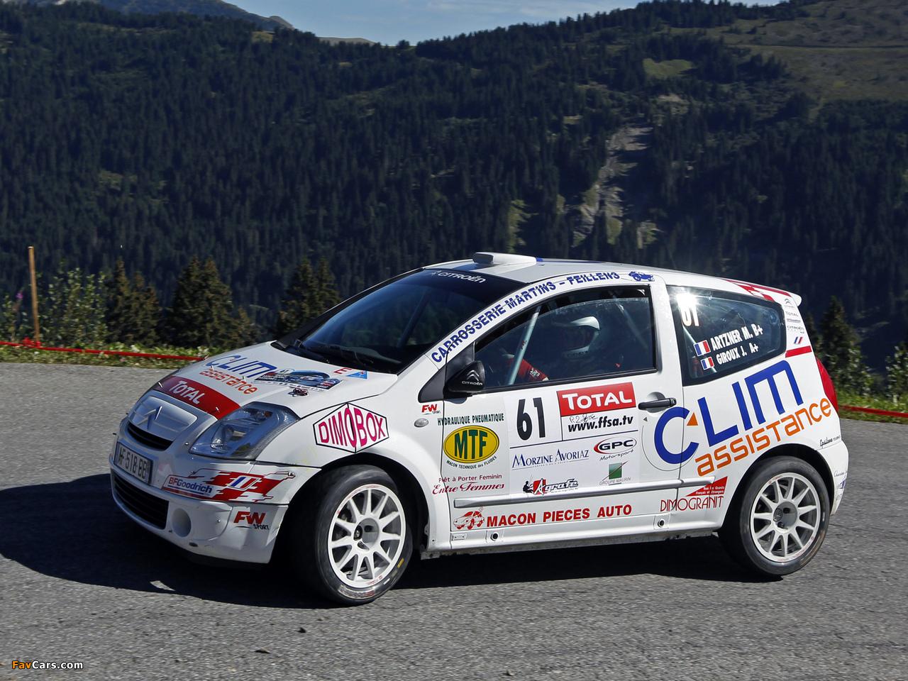 Citroën C2 R2 Max 2008 wallpapers (1280 x 960)