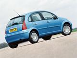 Citroën C3 UK-spec 2001–05 pictures