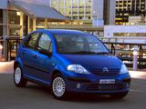Photos of Citroën C3 AU-spec 2001–05