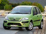 Photos of Citroën C3 AU-spec 2005–09