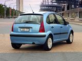 Citroën C3 AU-spec 2001–05 wallpapers