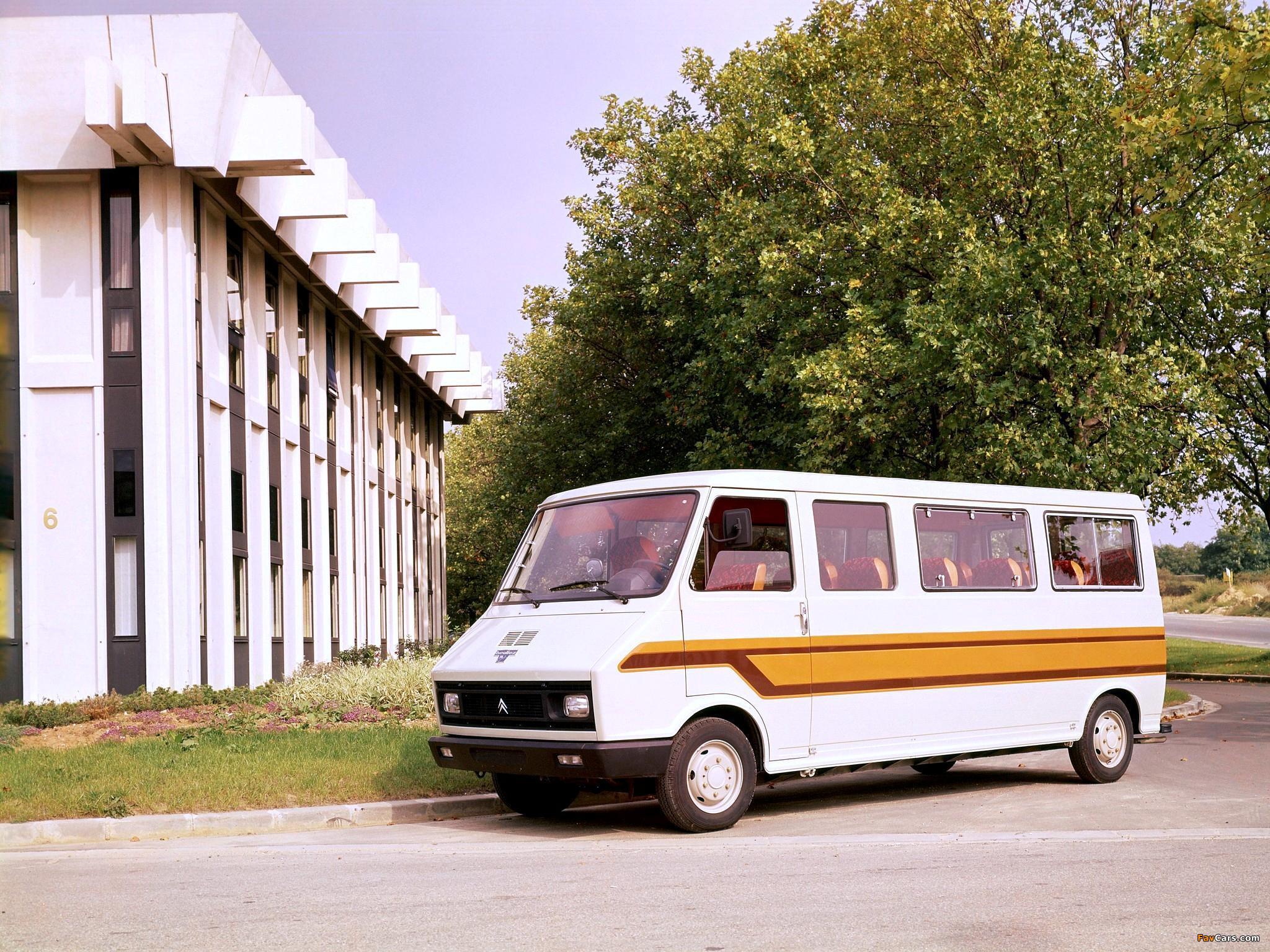 Heuliez Citroën C35 Minibus 1974–84 wallpapers (2048 x 1536)