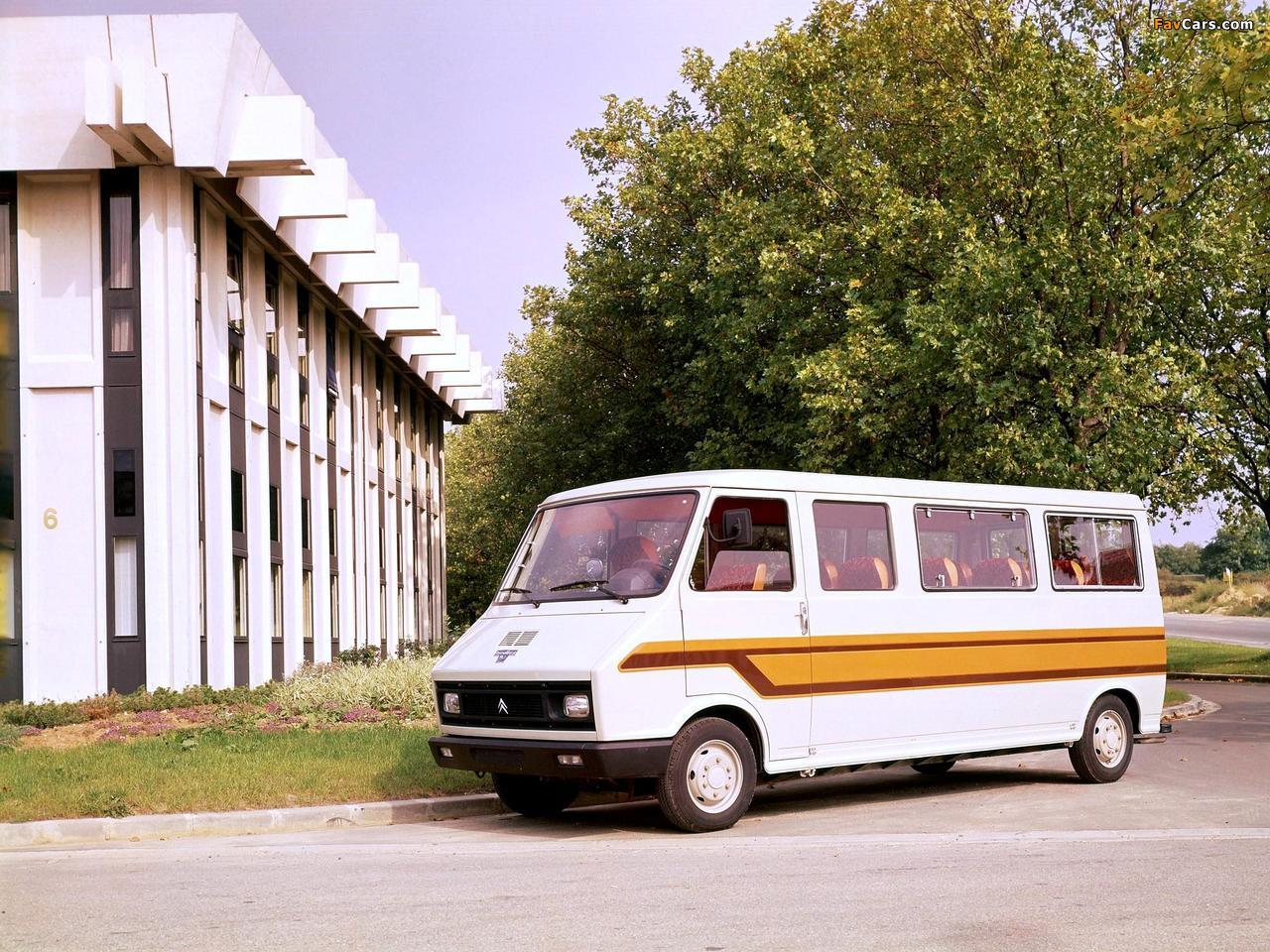 Heuliez Citroën C35 Minibus 1974–84 wallpapers (1280 x 960)