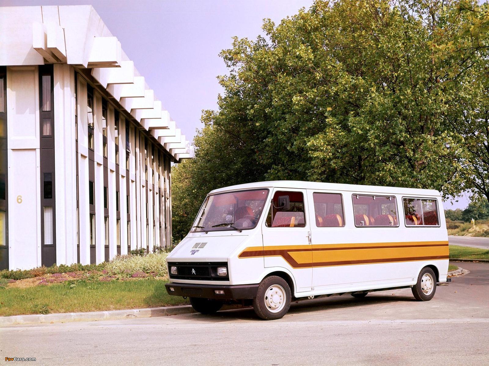 Heuliez Citroën C35 Minibus 1974–84 wallpapers (1600 x 1200)
