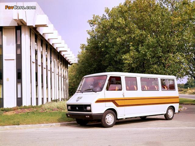 Heuliez Citroën C35 Minibus 1974–84 wallpapers (640 x 480)