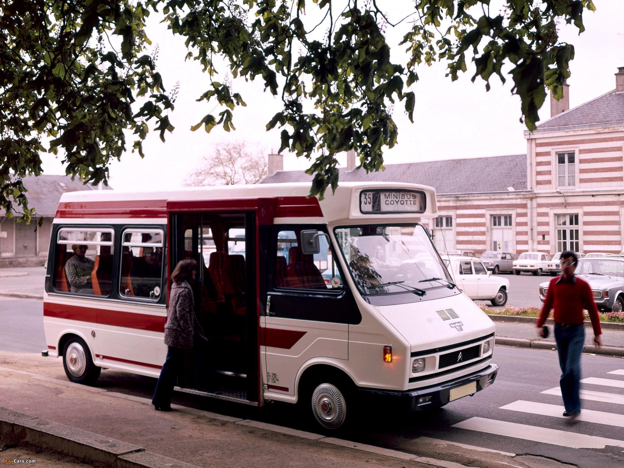 Photos of Heuliez Citroën C35 Minibus 1974–84 (2048 x 1536)