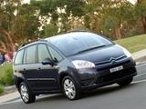 Citroën Grand C4 Picasso Premium Pack AU-spec 2006–10 photos