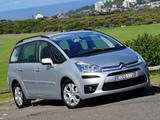 Citroën Grand C4 Picasso AU-spec 2011–13 photos