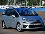 Citroën Grand C4 Picasso AU-spec 2011–13 wallpapers
