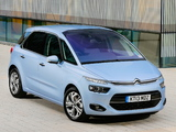 Citroën C4 Picasso UK-spec 2013 photos