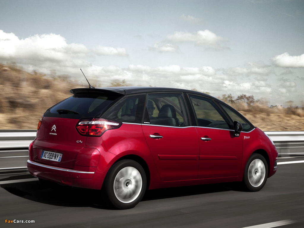 Citroën C4 Picasso 2010 wallpapers (1024 x 768)