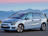 Photos of Citroën Grand C4 Picasso UK-spec 2013
