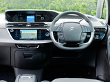 Photos of Citroën C4 Picasso UK-spec 2013
