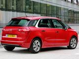 Pictures of Citroën C4 Picasso UK-spec 2013