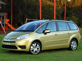 Citroën Grand C4 Picasso HDi AU-spec 2006–10 wallpapers