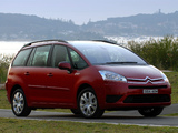 Citroën Grand C4 Picasso AU-spec 2006–10 wallpapers