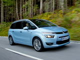 Citroën Grand C4 Picasso UK-spec 2013 wallpapers
