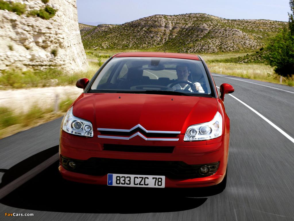 Citroën C4 Coupe 2004–08 images (1024 x 768)