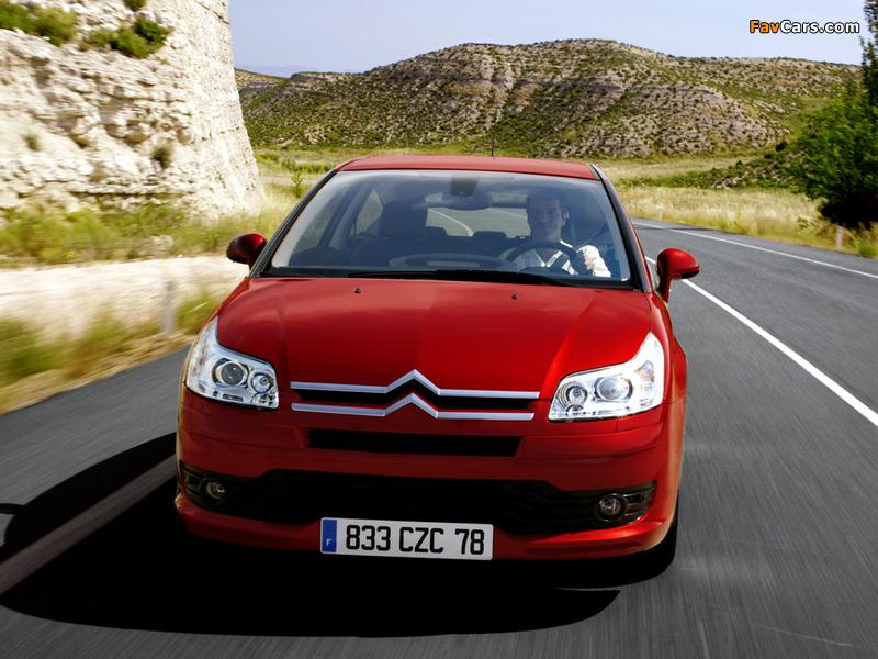 Citroën C4 Coupe 2004–08 images (800 x 600)