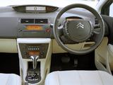 Citroën C4 Berline AU-spec 2004–08 pictures