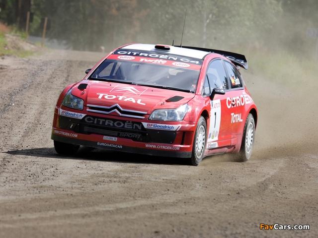 Citroën C4 WRC 2007–08 photos (640 x 480)