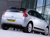 Citroën C4 Berline UK-spec 2008–10 pictures