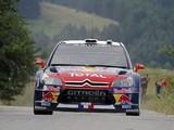 Citroën C4 WRC 2009–10 images