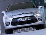 Images of Citroën C4 Berline UK-spec 2008–10