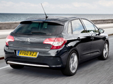 Photos of Citroën C4 UK-spec 2010