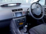 Pictures of Citroën C4 Berline UK-spec 2008–10