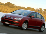 Citroën C4 Berline AU-spec 2004–08 wallpapers