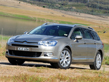 Citroën C5 Break HDi AU-spec 2008–10 wallpapers