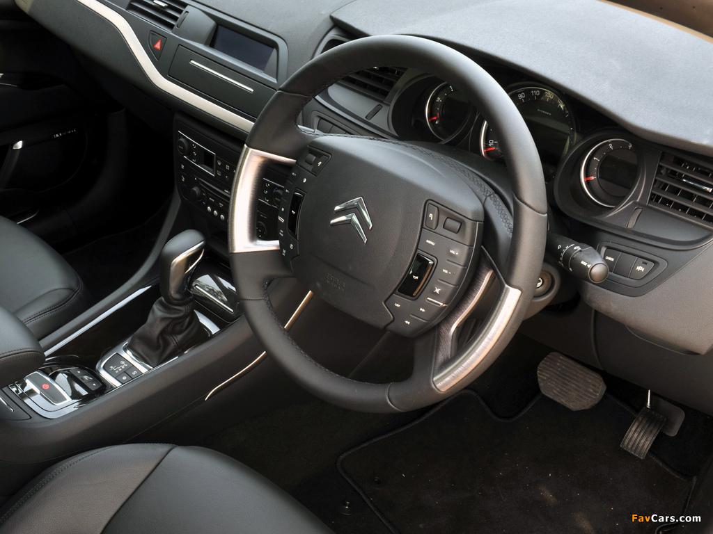 Photos of Citroën C5 V6 HDi AU-spec 2008–10 (1024 x 768)