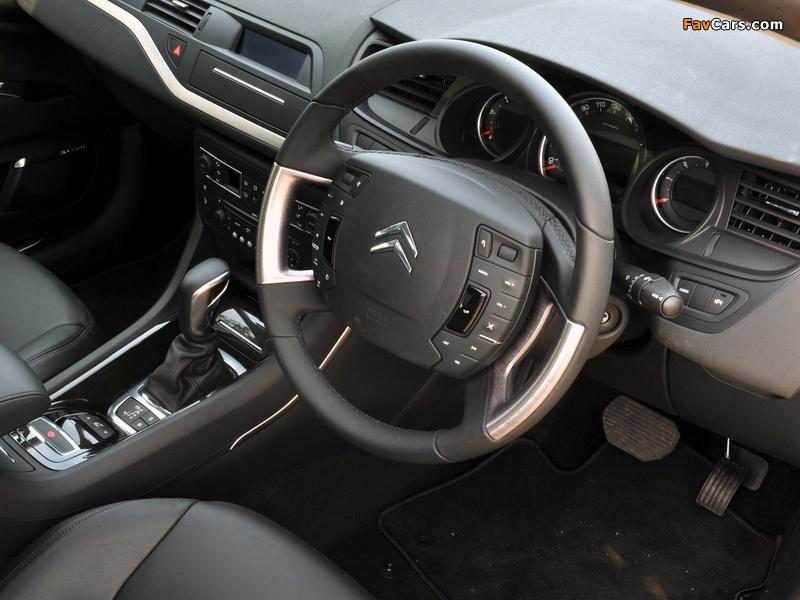 Photos of Citroën C5 V6 HDi AU-spec 2008–10 (800 x 600)