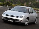 Citroën C6 V6 HDi AU-spec 2005 images