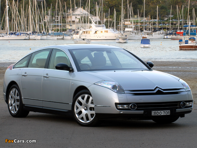 Photos of Citroën C6 V6 HDi AU-spec 2005 (640 x 480)