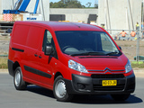 Citroën Dispatch Van LWB AU-spec 2009 images