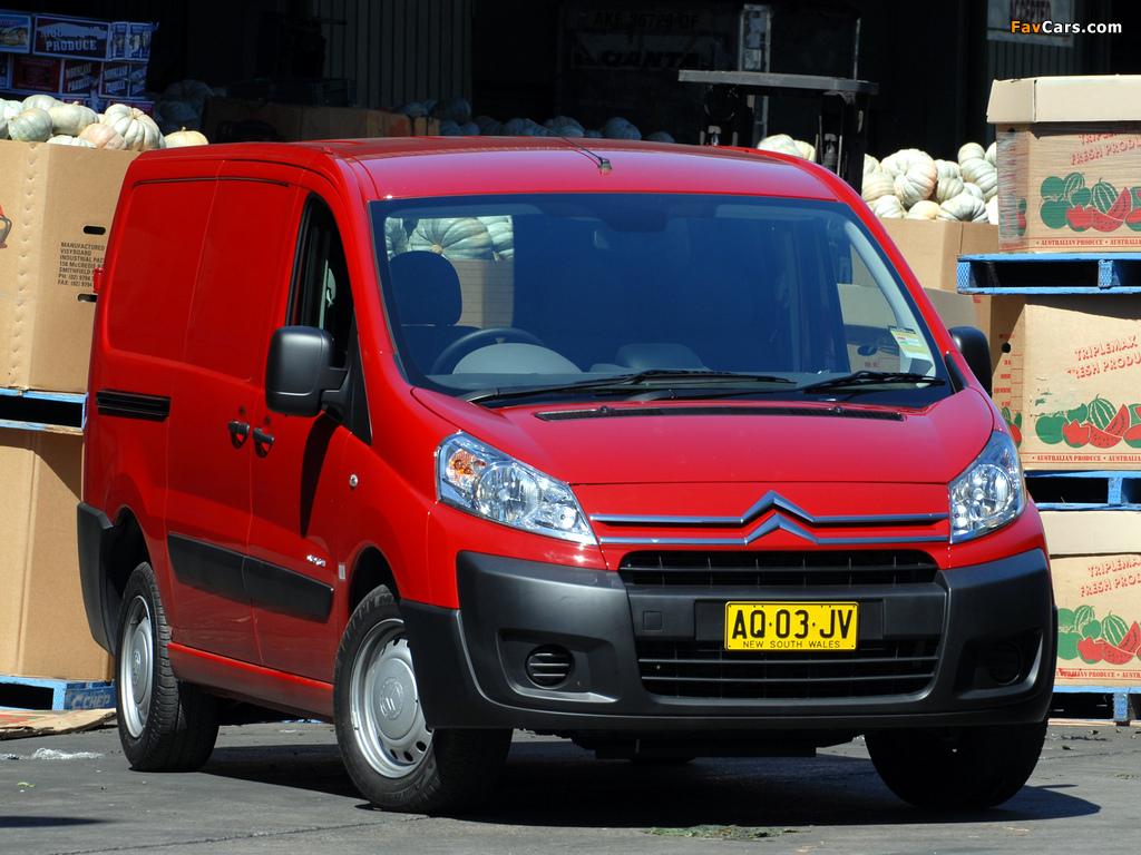 Citroën Dispatch Van LWB AU-spec 2009 pictures (1024 x 768)