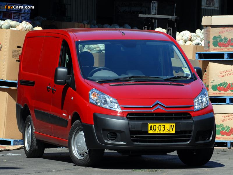 Citroën Dispatch Van LWB AU-spec 2009 pictures (800 x 600)