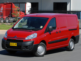Citroën Dispatch Van LWB AU-spec 2009 wallpapers