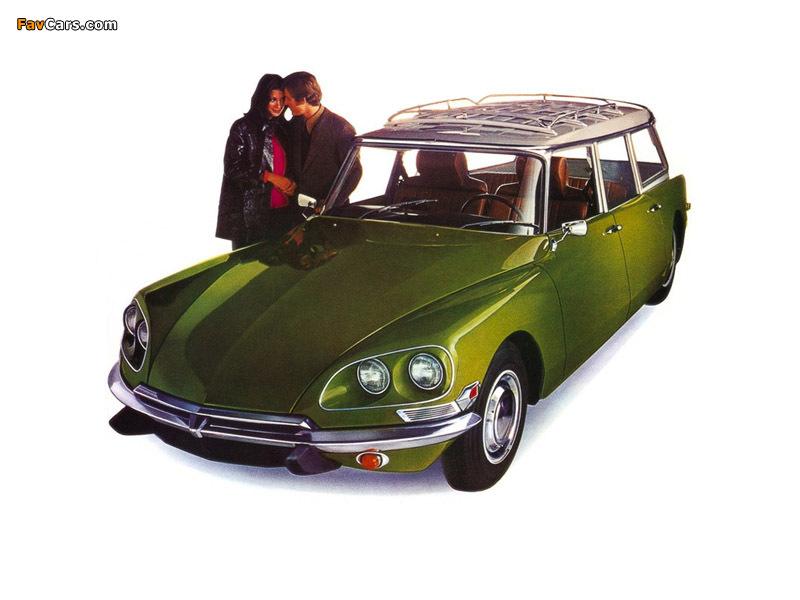 Citroën DS 21 Wagon US-spec 1969–72 photos (800 x 600)