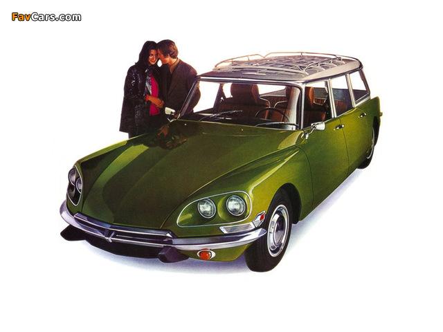 Citroën DS 21 Wagon US-spec 1969–72 photos (640 x 480)