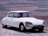 Pictures of Citroën DS 21 Berline 1968–74