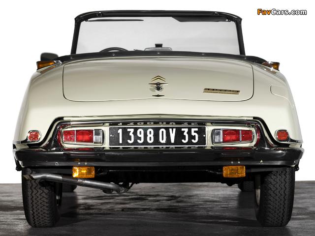 Pictures of Citroën DS 23 Cabriolet 1973–75 (640 x 480)
