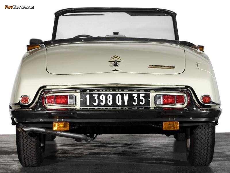 Pictures of Citroën DS 23 Cabriolet 1973–75 (800 x 600)