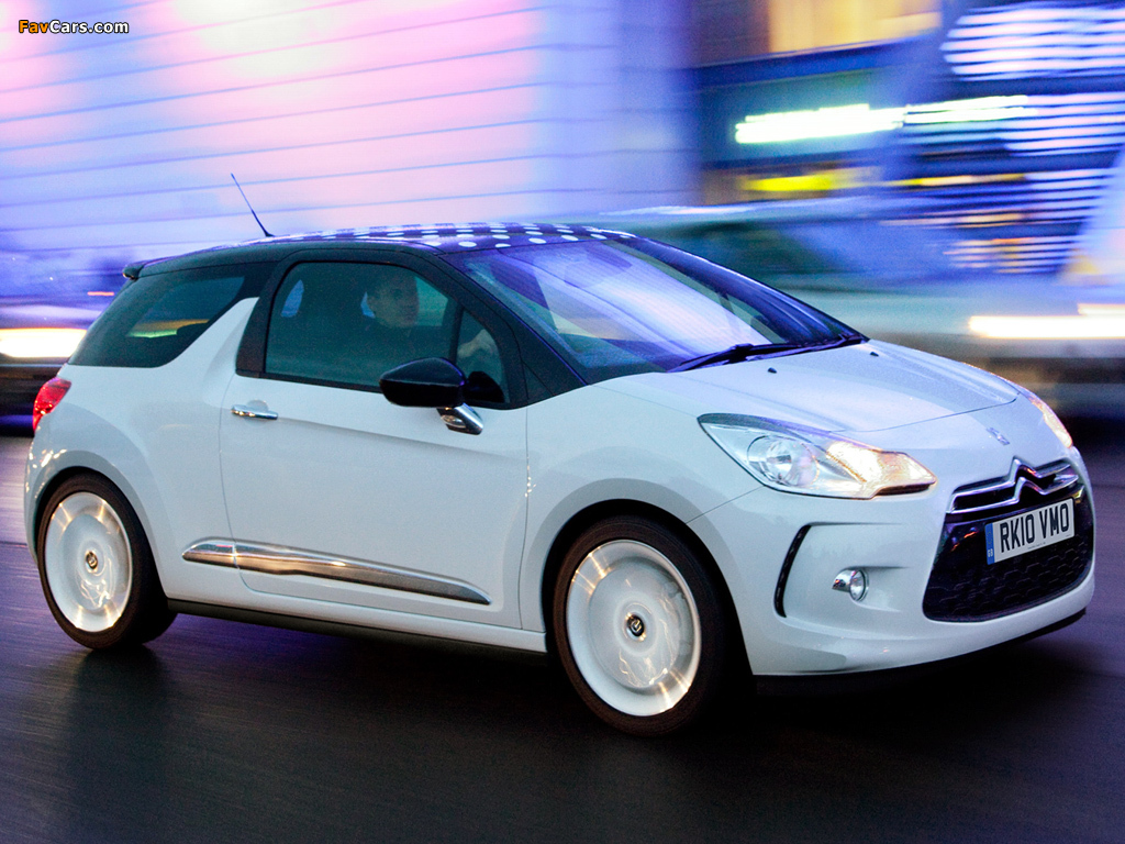 Citroën DS3 UK-spec 2009 images (1024 x 768)
