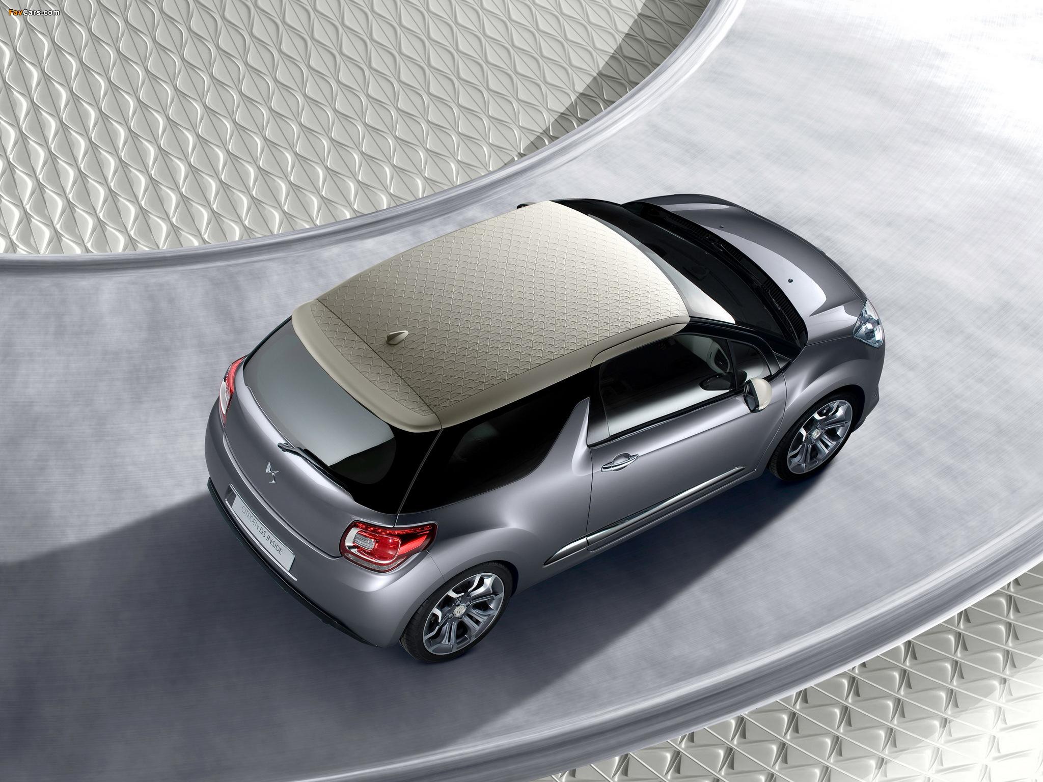 Citroën DS Inside Concept 2009 photos (2048 x 1536)
