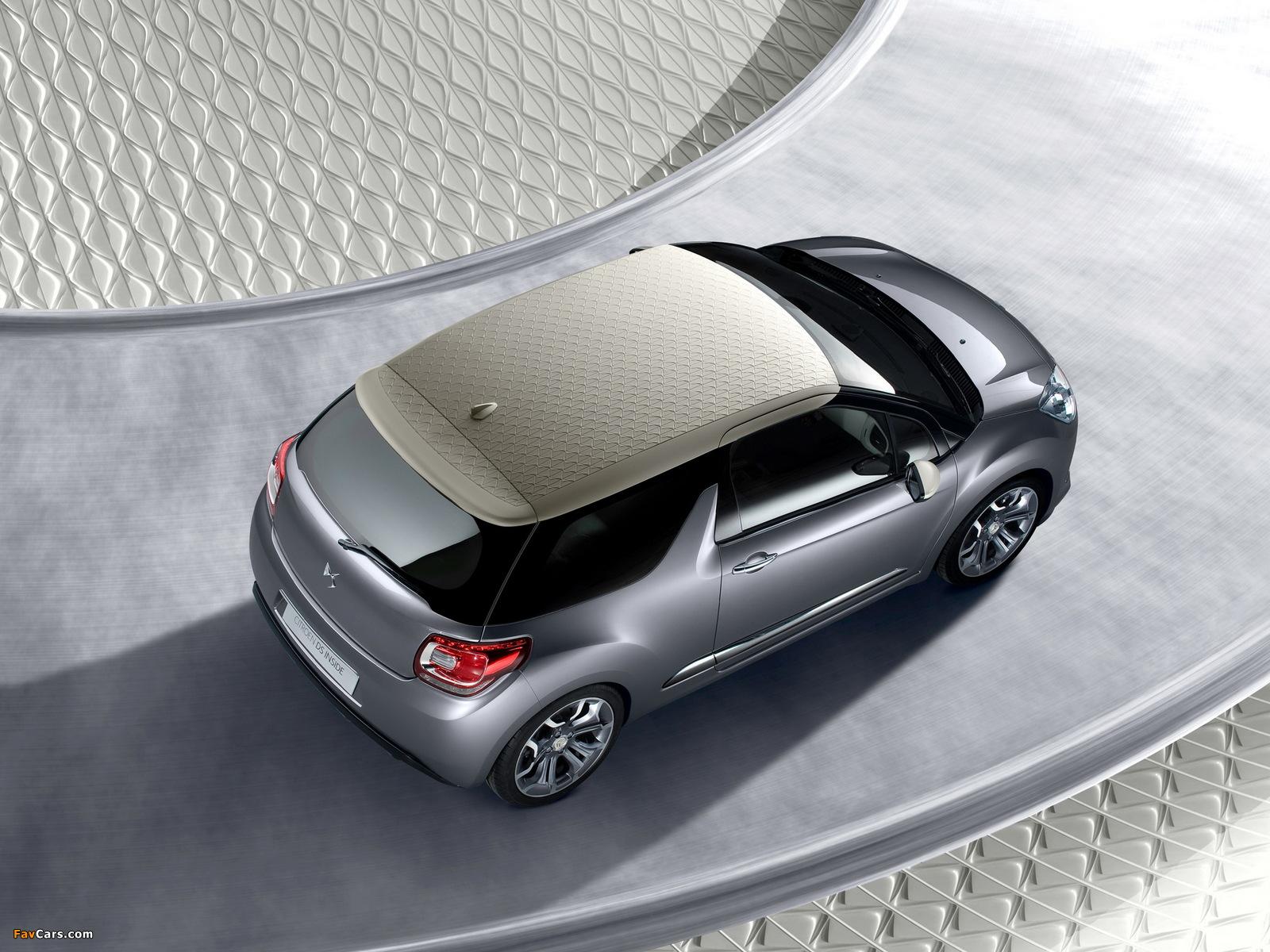 Citroën DS Inside Concept 2009 photos (1600 x 1200)