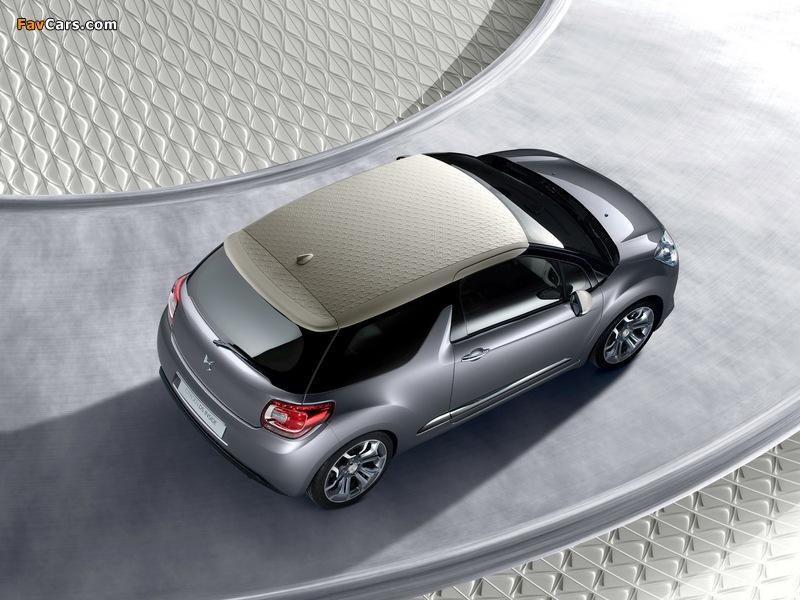 Citroën DS Inside Concept 2009 photos (800 x 600)